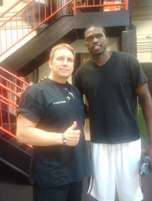 NBA All Star Luol Deng